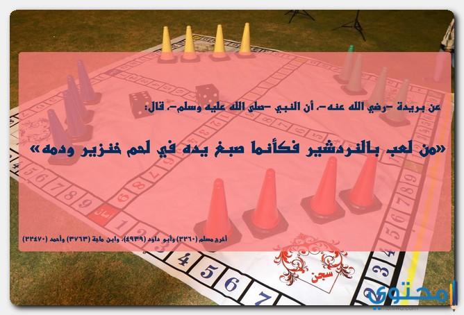 حكم لعبة الشيش
