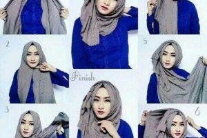 طرق لفات الحجاب بالصور