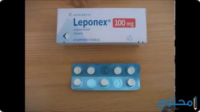 دواعي الاستعمال دواء ليبونكس
