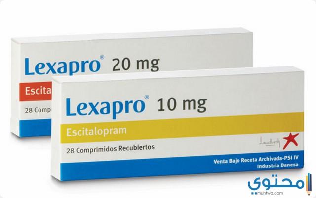 استخدامات دواء ليكسابرو