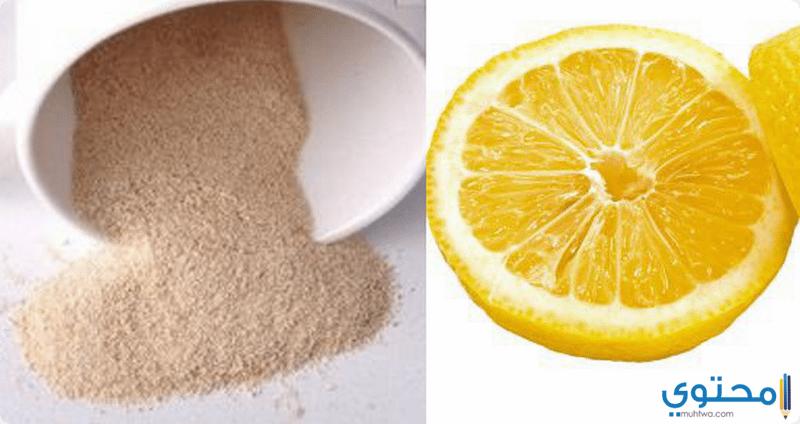الليمون وخميرة