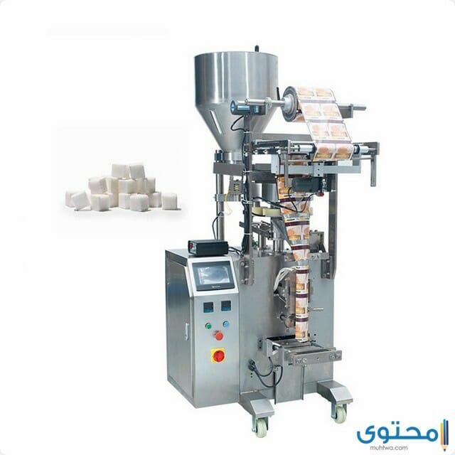 ماكينة تعبئة وتغليف السكر