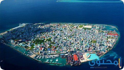 جزيرة ماليه المالديف