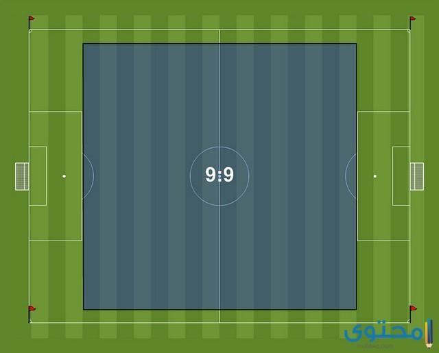 ما هو طول ملعب كرة القدم