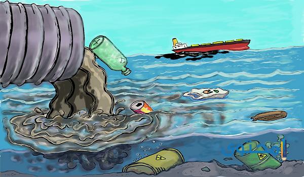 ما هي مصادر تلوث الماء مختصر