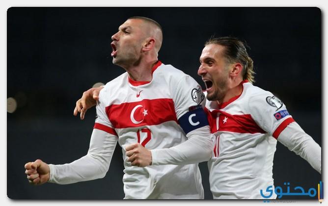 مباراة تركيا ضد ويلز