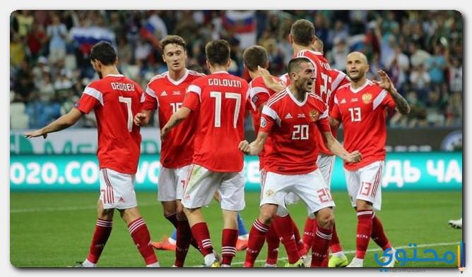 مباراة روسيا وفنلندا