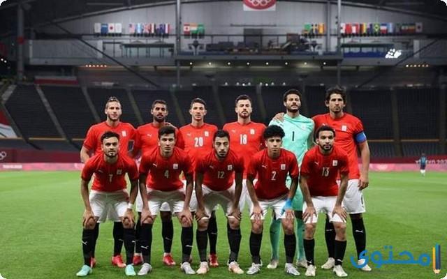 مباراة مصر والبرازيل