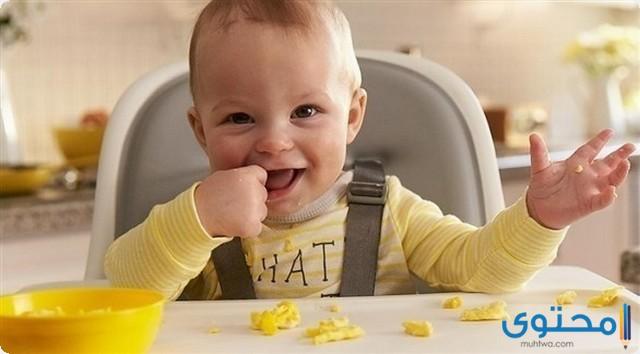متى يبدا الطفل في اكل البيض