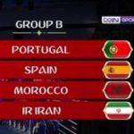 مجموعة المغرب في كأس العالم روسيا 2018