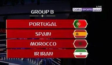 مجموعة المغرب في كأس العالم 2018