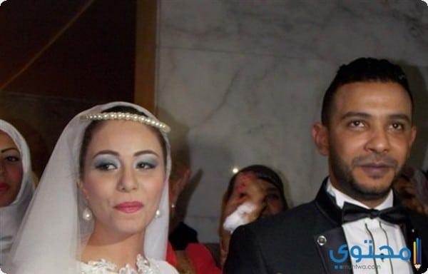محمد حسن يحتفل بزفافه