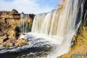 صور السياحة في محمية وادى الريان 2018