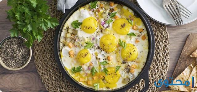مدة هضم البيض في المعدة