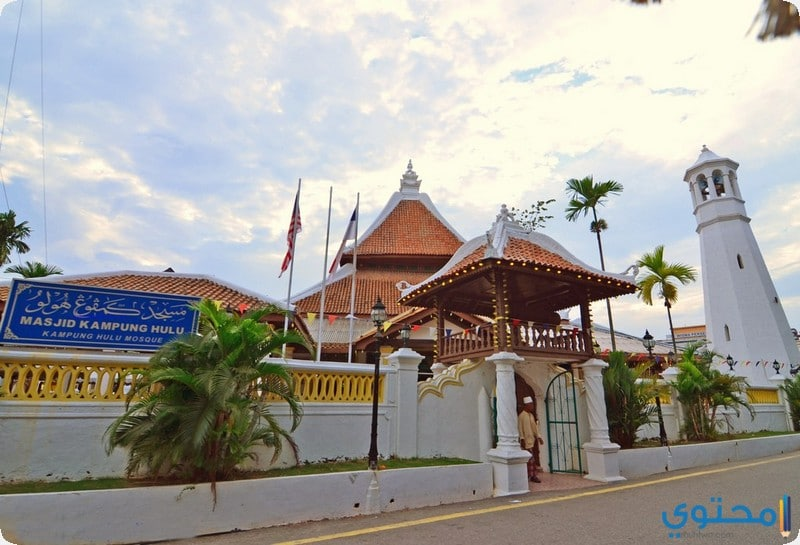 مسجد كامبونج كيلينغ ملاكا ماليزيا