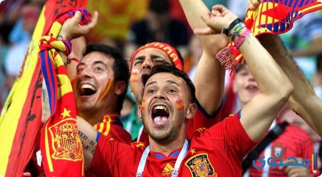 مشجعات اسبانيا 2018