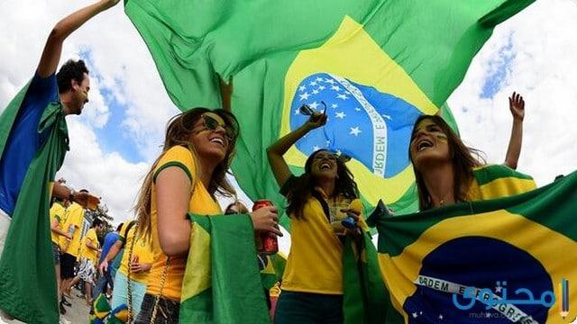مشجعات البرازيل 2018