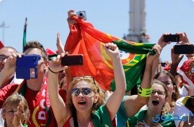 مشجعات البرتغال 2018