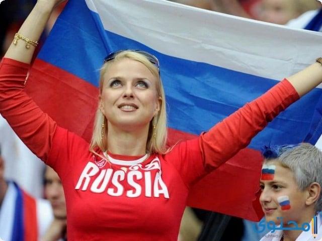 مشجعات روسيا 2018