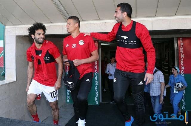 موعد مباراة مصر وروسيا