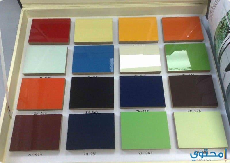 ألوان مطابخ الالوميتال