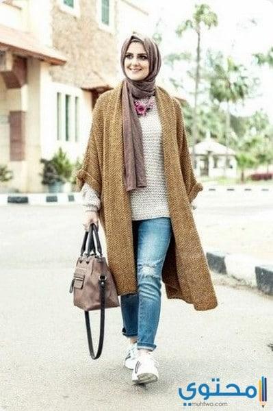 أخر صيحات المعطف التركية