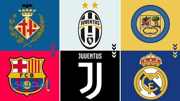 معاني شعارات الأندية الأوروبية
