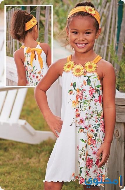 ملابس اطفال بنات لصيف2018