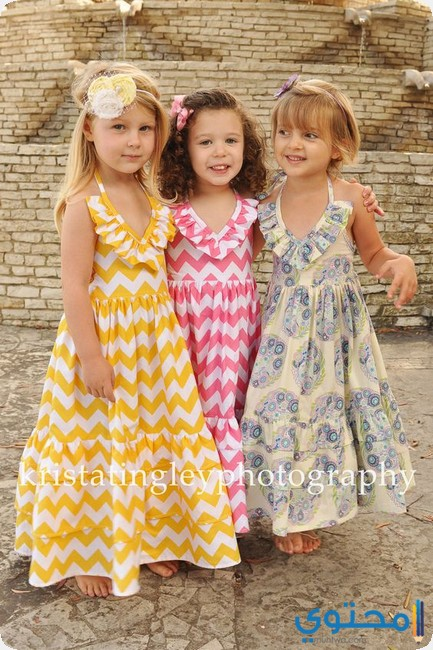 1933ccec6cb24 ملابس اطفال بنات صيف 2019 - موقع محتوى