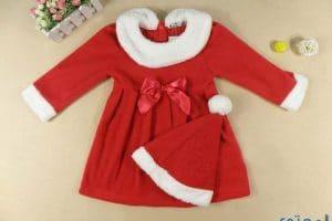 ملابس بابا نويل للبنات 2018