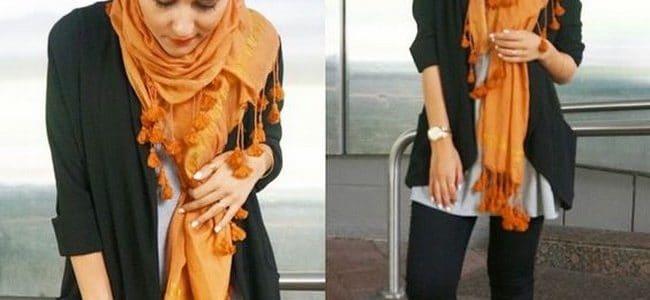ملابس بنات محجبات سن 18 حديثة 2019 - موقع محتوى
