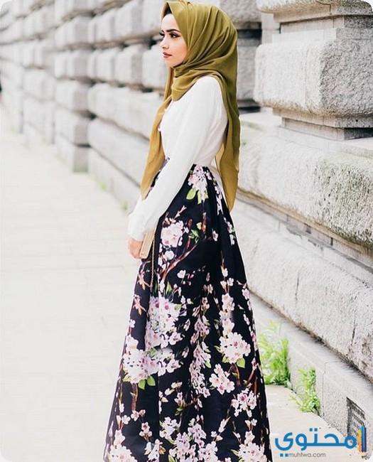 صور احدث موضه ملابس بنات مراهقات محجبات - موقع محتوى