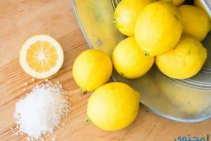 فوائد وأضرار ملح الليمون واستخداماته