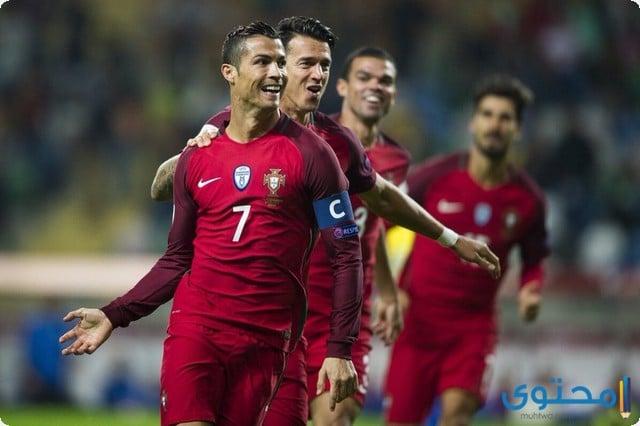 صور منتخب البرتغال 2018