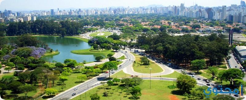 منتزه إبيرابويرا في ساو باولو