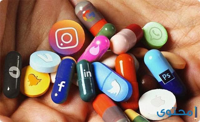 موضوع تعبير جديد عن إدمان وسائل التواصل الاجتماعي 2022