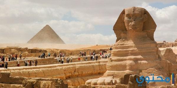 أهم الأثار والمناطق السياحية في مصر