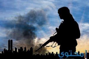 موضوع تعبير عن الارهاب وخطورتة