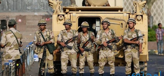 موضوع تعبير عن الجيش المصري بالعناصر