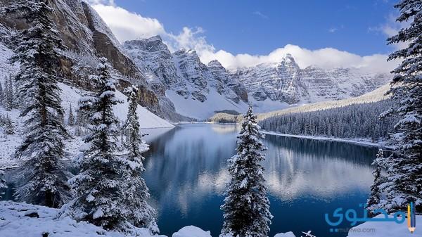 مظاهر فصل الشتاء