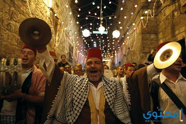 مظاهر الإحتفال بشهر رمضان