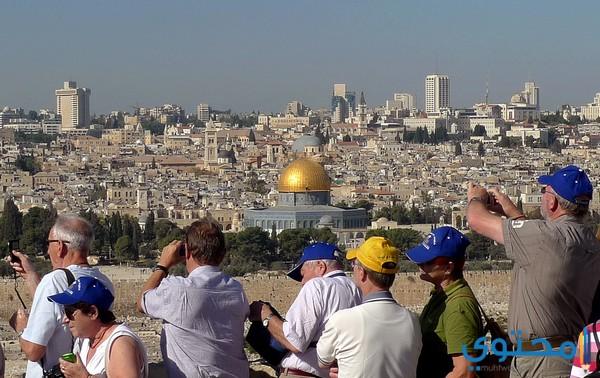مكانة فلسطين السياحية