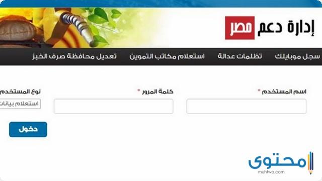 موقع دعم مصر الإلكتروني