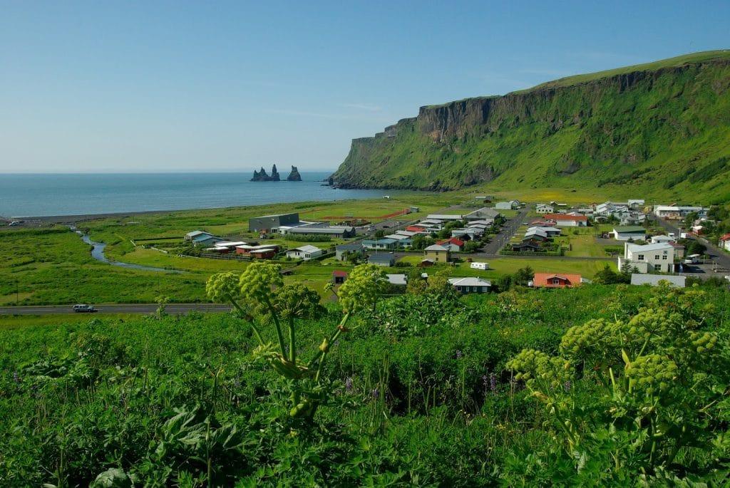 خليج ميردال في إيسلندا