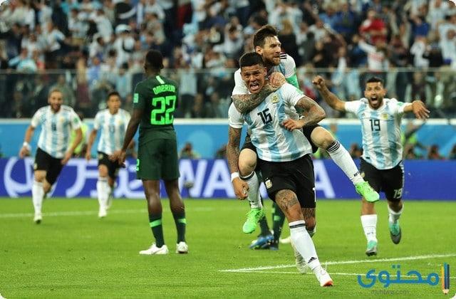ميسي الأرجنتين 2021