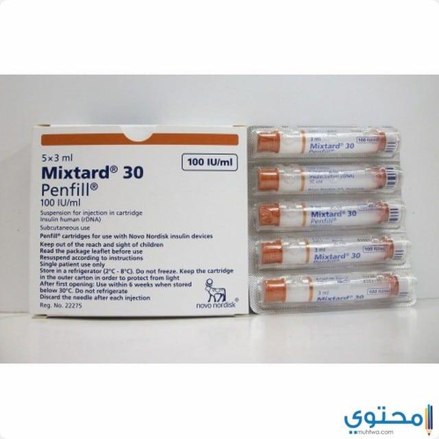 دواعي الاستعمال لدواء ميكستارد