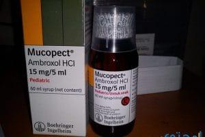 ميوكوبكت Mucopect لعلاج الكحة وطارد للبلغم
