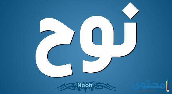 معنى اسم نوح