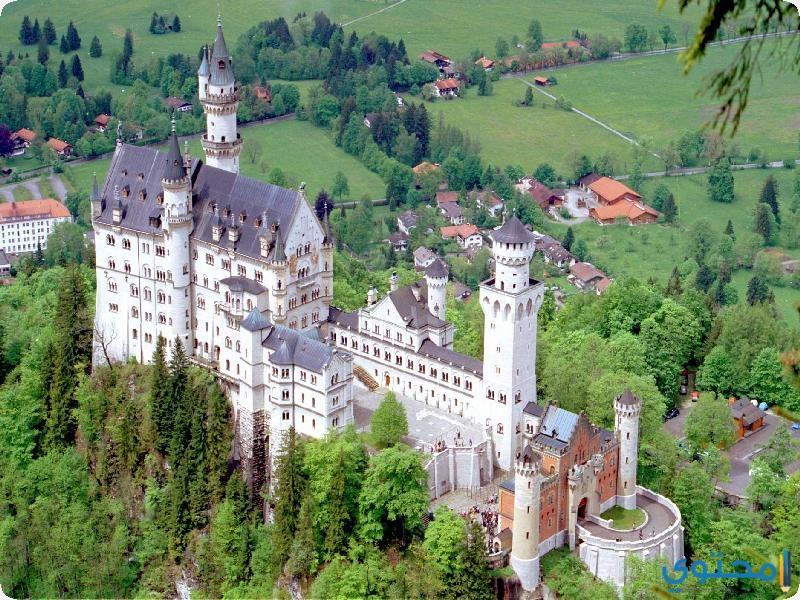 قصر نويشفانشتاين المانيا