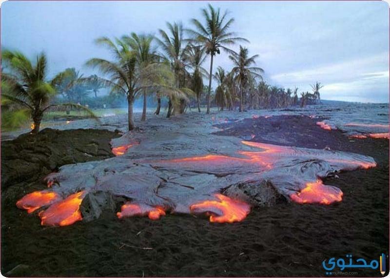 حديقة براكين هاواي الوطنية
